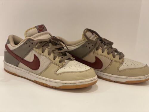 Vintage Nike Dunk Low 2003 Size 11 Light Bone Mush
