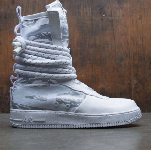 buy popular c92df 599e8 Nike SF Special Field Air Force 1 Af1 Hi Boot PRM White Size 9 Aa1130-100