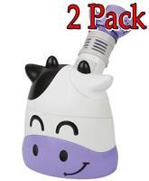 Healthsmart Margo Moo Personal Steam Inhaler, 1ct, 2 Pack 767056407503s3660