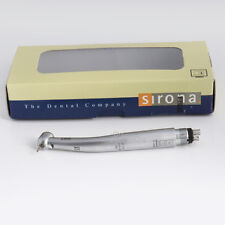 Sirona T3 Racer Dental High Speed Handpiece LED Fiber Optic Torque Push 4holes