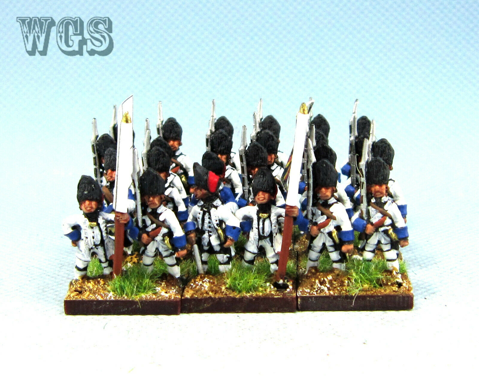 15mm WGS Seven Years War SYW Painted French Grenadier Fa32