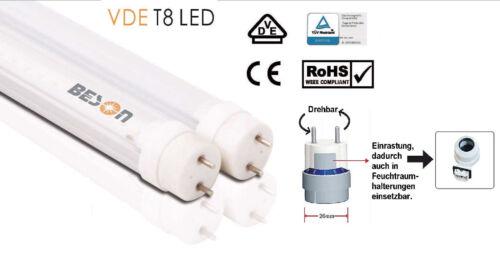 Mind.Bestell AUBYTEC® ultra helle TÜV LED Röhre 30W 4800LUM 6500K 5J Gar 5St.!