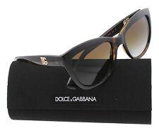 New Dolce & Gabbana Sunglasses Polarized DG6087 502/T5 Havana Logo Execution