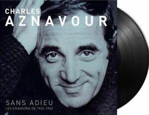 Charles Aznavour – Sans Adieu Les Chansons de 1955     New  LP  Vinyl  in seal