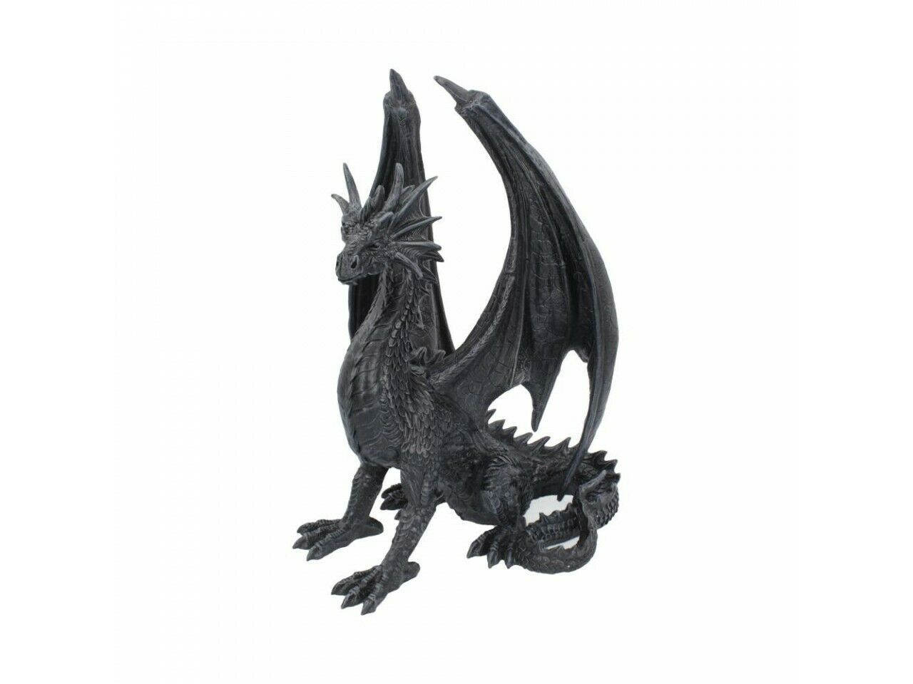Steel Wing Skull 21cm Nemesis Now Dragon On Skull Steampunk Gothic Fantasy