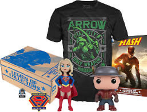 Legion of Collectors Supergirl Iron-on Patch and Atom Pin Badge Details about  /DC Comics