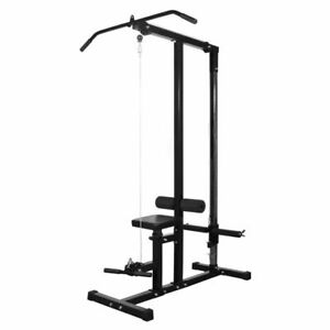 vidaXL-Home-Gym-without-Weights-Pull-Down-Machine-Exercise-Fitness-Station