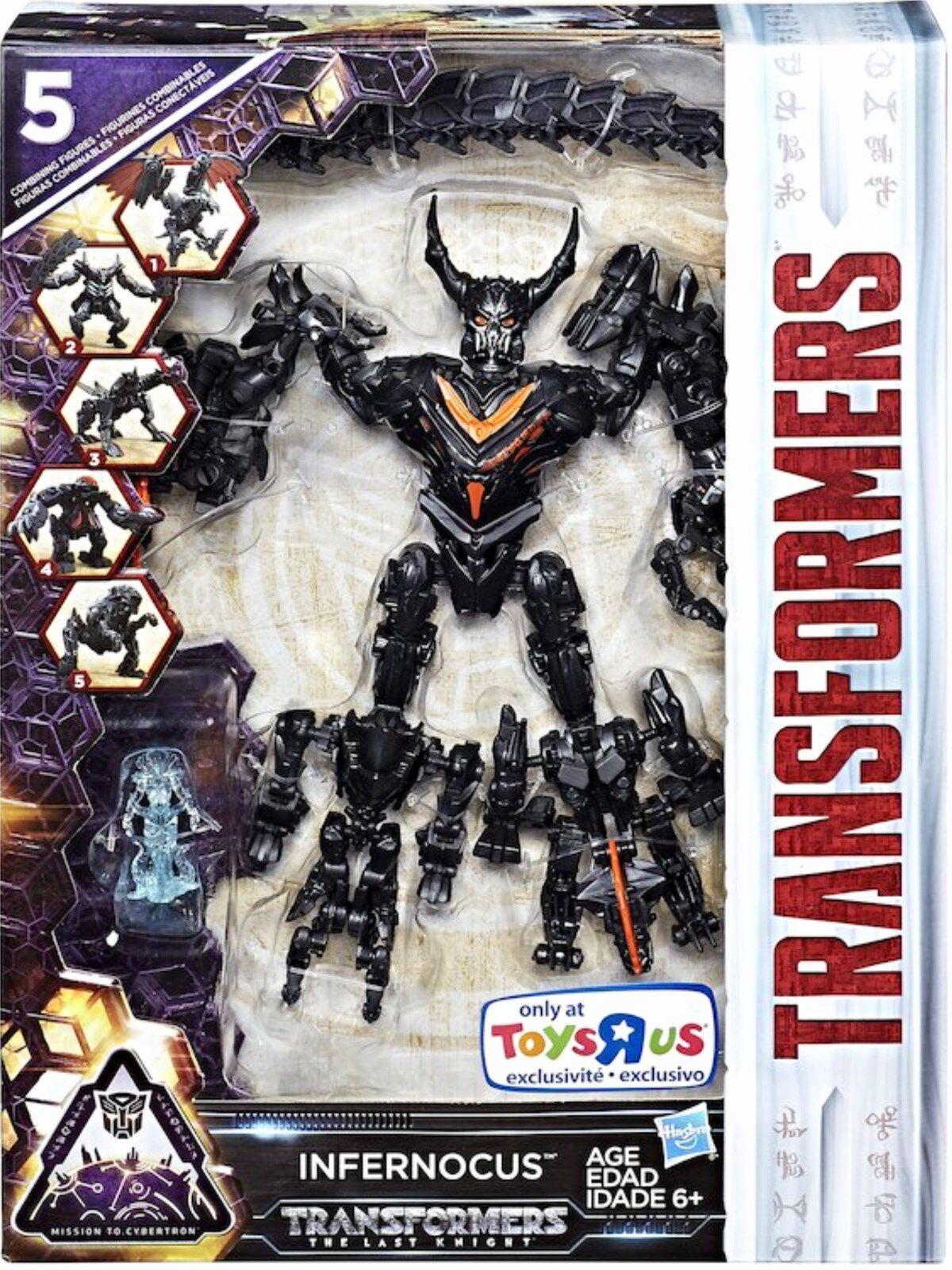 comprar marca Transformers el último caballero exclusivo Combinador infernocus infernocus infernocus Nuevo Sellado De Fábrica  suministramos lo mejor