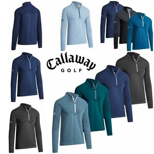 Callaway-2019-2020-Pullover-1-4-Zip-Ribbed-Ottoman-Thermal-Fleece-Golf-Sweater