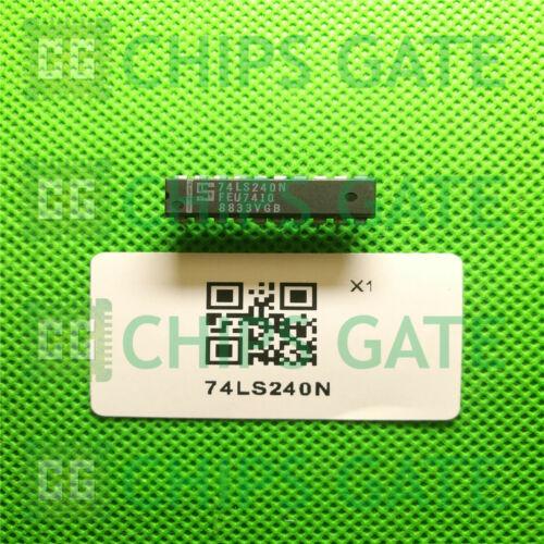15PCS 74LS240N Encapsulation:DIP-20,Replacement for Texas Instruments part
