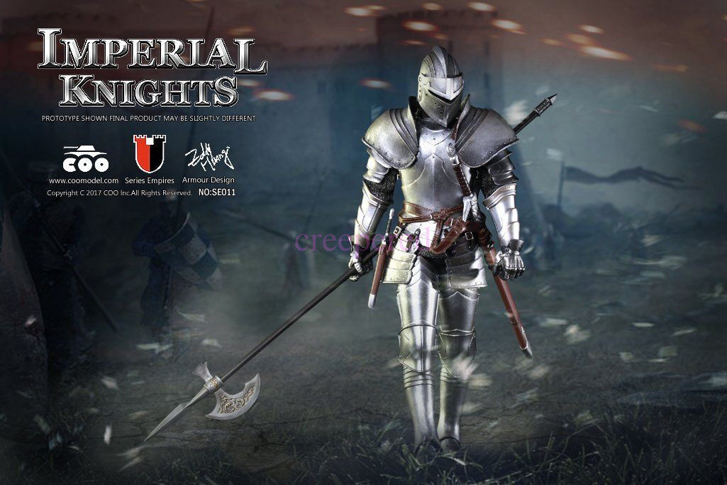 Coomodel 1 6 NO.SE011 NO.SE011 NO.SE011 Royal Knight Diecast Alloy Series Of Empires Action Figure bb6b48
