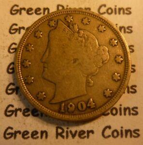 1904 Liberty Head Nickel  #PH04 better grade