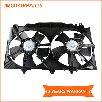 Dual Radiator and Condenser Fan Assembly Cooling Direct For//Fit NI3115127 03-06 Nissan 350Z 03-06 Infiniti G35 Sedan 03-07 G35 Coupe
