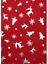 Sciarpa Rossa Argento Lamina Metallica Albero di Natale Renna Fiocco Di Neve Regalo