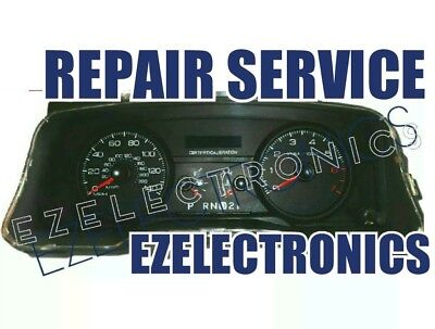 REPAIR SERVICE FOR 2006 TO 2011 CROWN VICTORIA INSTRUMENT CLUSTER