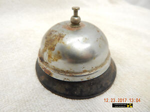 Remarkable Details About Hotel Front Desk Bell Order Up Bell Rusty Dusty Used Distressed As Is Home Interior And Landscaping Oversignezvosmurscom