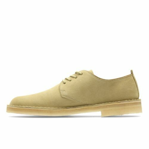 Clarks ORIGINALS  Uomo Maple Größe Suede London Schuhes / Größe Maple 9 & NEW 283884