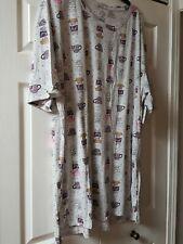 NWT Secret Treasures Large-XL GRAY COFFEE PRINT  Nightshirt Nightgown   CC