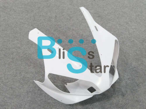 Yamaha YZF R1 2000 2001 front cowling upper nose headlight fairings unpainted W7