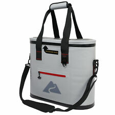 Gray Ozark Trail 6-Can Premium Cooler With Heat-Welded Main Body Ykk Zipper