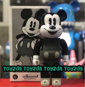 7f64a7cd Medicom Disney Mickey Mouse B&W Ver. 400% Be@rbrick Bearbrick Figure ...