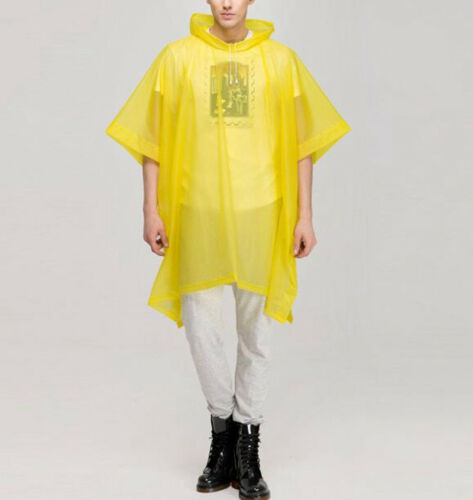 Cycling Bicycle Raincoat Men Womens Bike Waterproof Coat Cape Poncho Have Sleeve