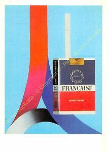 CP Poster Auriac Cigarettes French Edit Epta