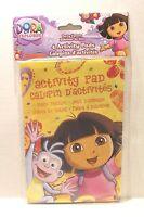 Dora The Explorer 4-pack Activity Pads Puzzle Books Girl's Birthday Party Favors