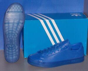 MENS ADIDAS COURTVANTAGE ADICOLOR in colors BLUE / BLUE / BLUE SIZE 9.5