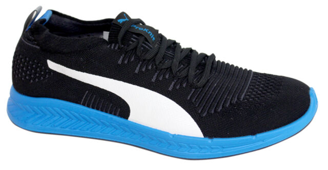 52521910ddd PUMA Ignite ProKnit Men s Running Shoes Black   Blue 44 for sale ...