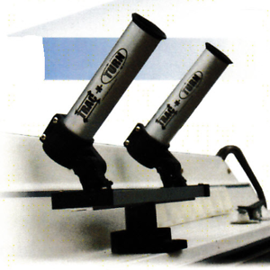 T & L Products   Trac-N-Turn   2 Rod Holders with 15  Trac