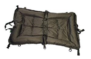 Q Dos Grand Bonnet Décrochage Tapis Carp Coarse Fishing Spécimen Rembourré 110cmx70cm
