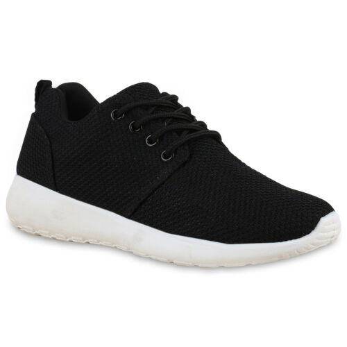 Damen Sportschuhe Laufschuhe Sneakers Runners Profilsohle 895872 Trendy