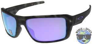 1f01e61f69 Image is loading Oakley-Double-Edge-Sunglasses-OO9380-0466-Black-Tortoise-