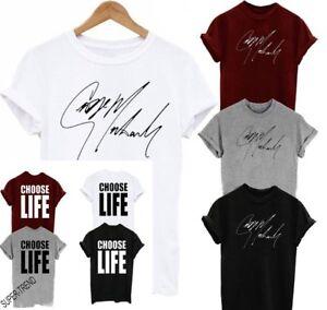 3d0c563c8 Choose Life Unisex Wham T-Shirt Fancy Dress Top Retro 80's Party ...