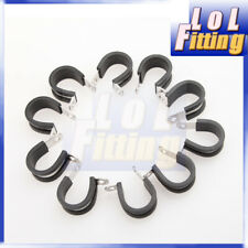 """1R10B 5 x Aircraft Rubber Cushioned Pipe Clamps P Clips 1 7//8/"""" Diameter"""