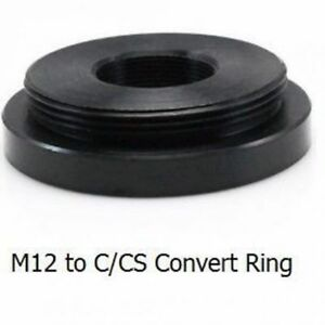 C-oder-CS-zu-M12-Lens-Converter-Adapter-Ring-CS-Kamera-mit-M12-Board-Objektiv-UK-Verkaeufer