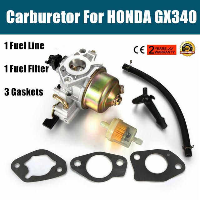 Carburetor Fuel Line Filter Carb For Honda GX340 11HP GX390 13HP Engine Motor