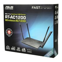 Asus Rt-ac1200 Wireless 802.11ac Dual Band Usb Router 4x External 5dbi Antennas