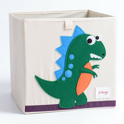 Cloth Storage Bins Foldable Cubes Box Basket Playroom Kids Baby Toys Organizer