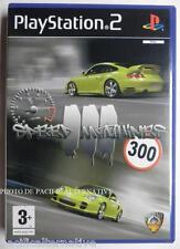 COMPLET jeu SPEED MACHINES III 3 pour playstation 2 PS2 en francais spiel juego