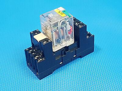 TELE RM730L  Schaltrelais mit Sockel RSS114  Miniaturrelais