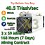 3-x-S9-Bitmain-Antminers-40-5-TH-s-Guaranteed-One-Week-Mining-Contract-SHA256 thumbnail 1