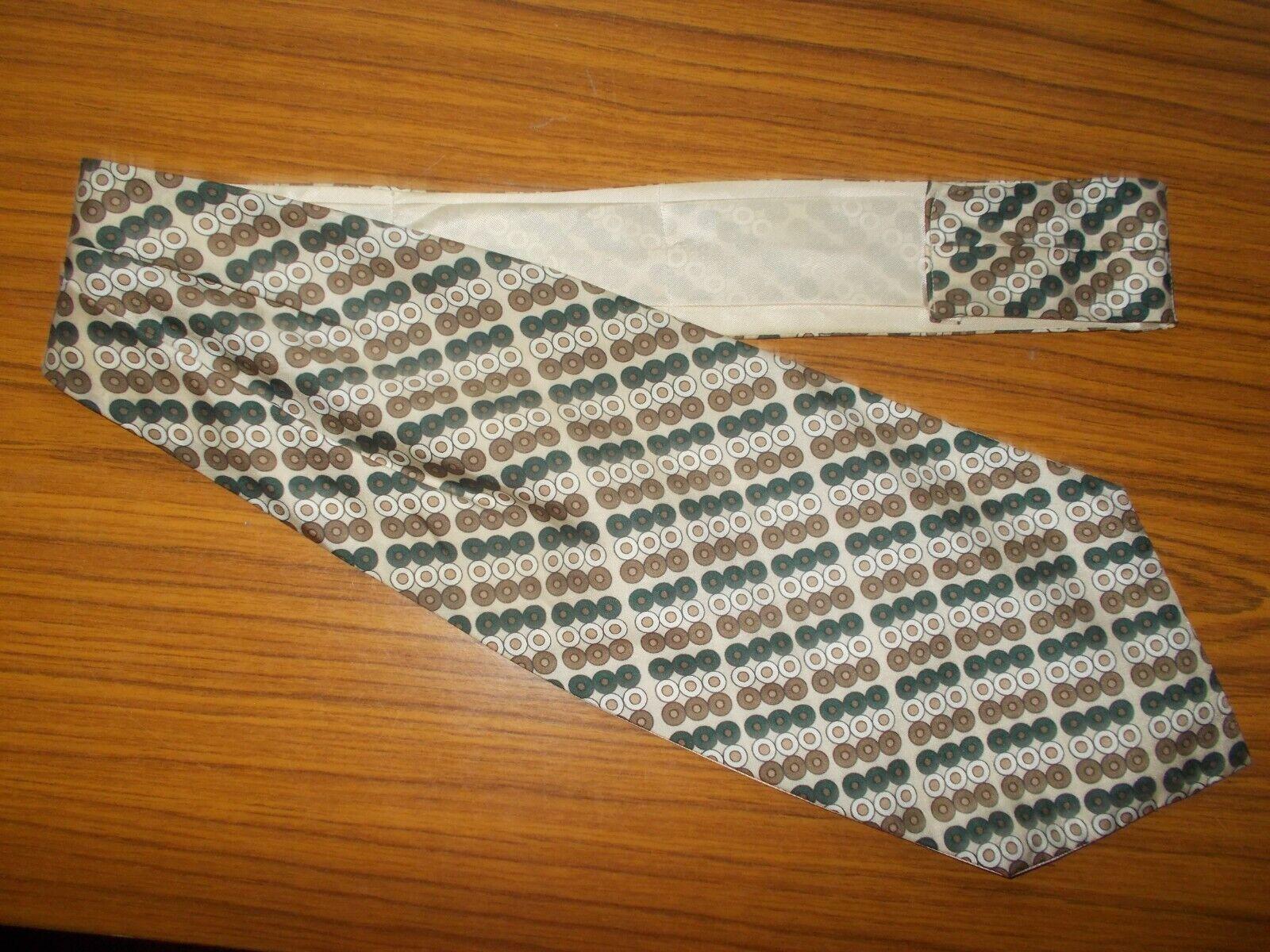 Herrn Schal krawatte brauntöne