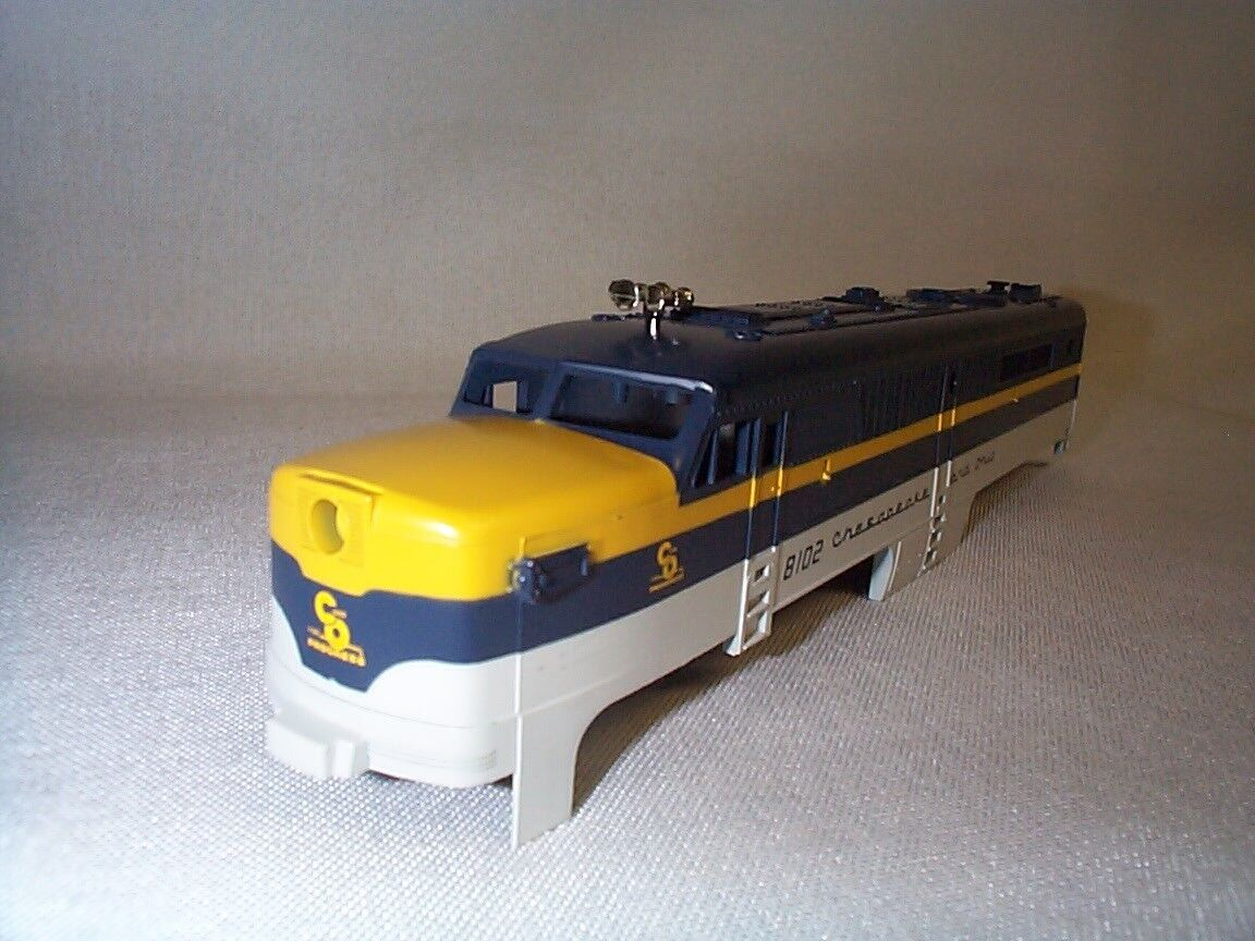 Lionel American Flyer 48102  8102  C&O Chesapeake PA Power A-Unit Shell NOS