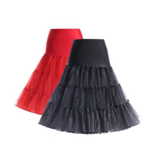 50er Jahre Rockabilly Petticoat Unterrock Retro Vintage 1950 viele Farben.