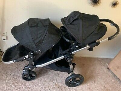 Double Baby Jogger City Select Fold All Terrain Stroller W ...