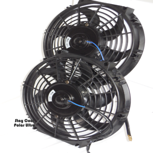 19841990    Corvette       Radiator       Electric    Cooling    Fans     Set of