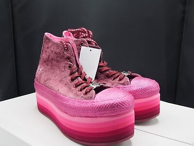 Converse x Miley Cyrus Chuck Taylor All Star Platform High Velvet   eBay