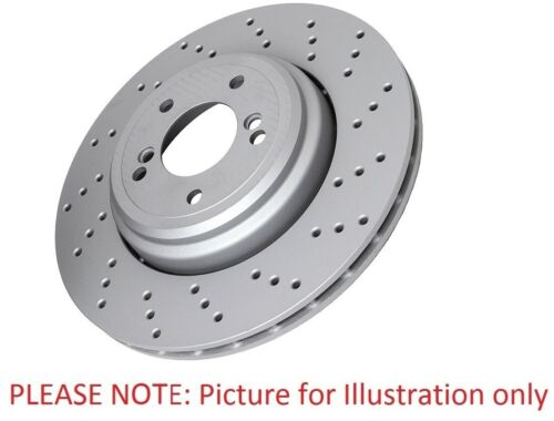 Eicher YH20485 Front Right Left Brake Disc Kit 2 Pieces 316mm Externally Vented